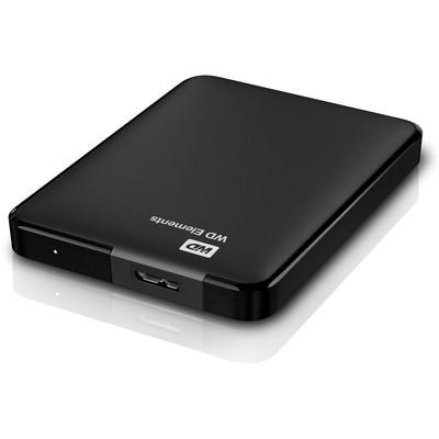 """HARD DISK 1 TB ESTERNO ELEMENTS USB 3.0 2,5"""" NERO AUTOALIMENTATO"""
