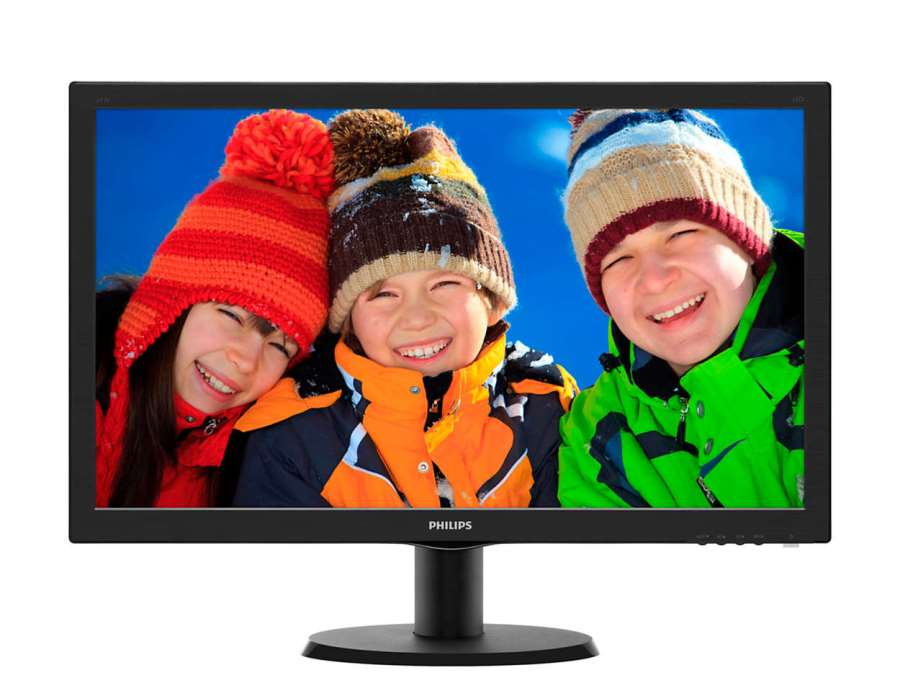 "MONITOR 24"" 243V5LHAB LED FULL HD MULTIMEDIALE"