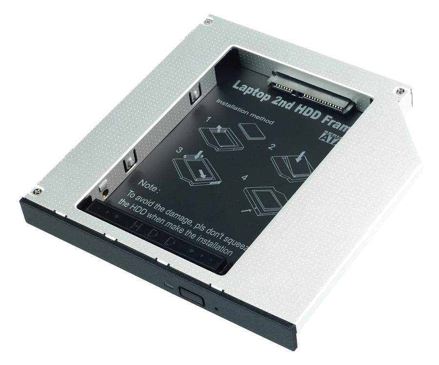 SLITTA X HDD SATA IN SLOT SLIM MASTERIZZATORE NOTEBOOK (20936)