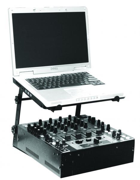SUPPORTO NOTEBOOK PER DJ (LP KIT)