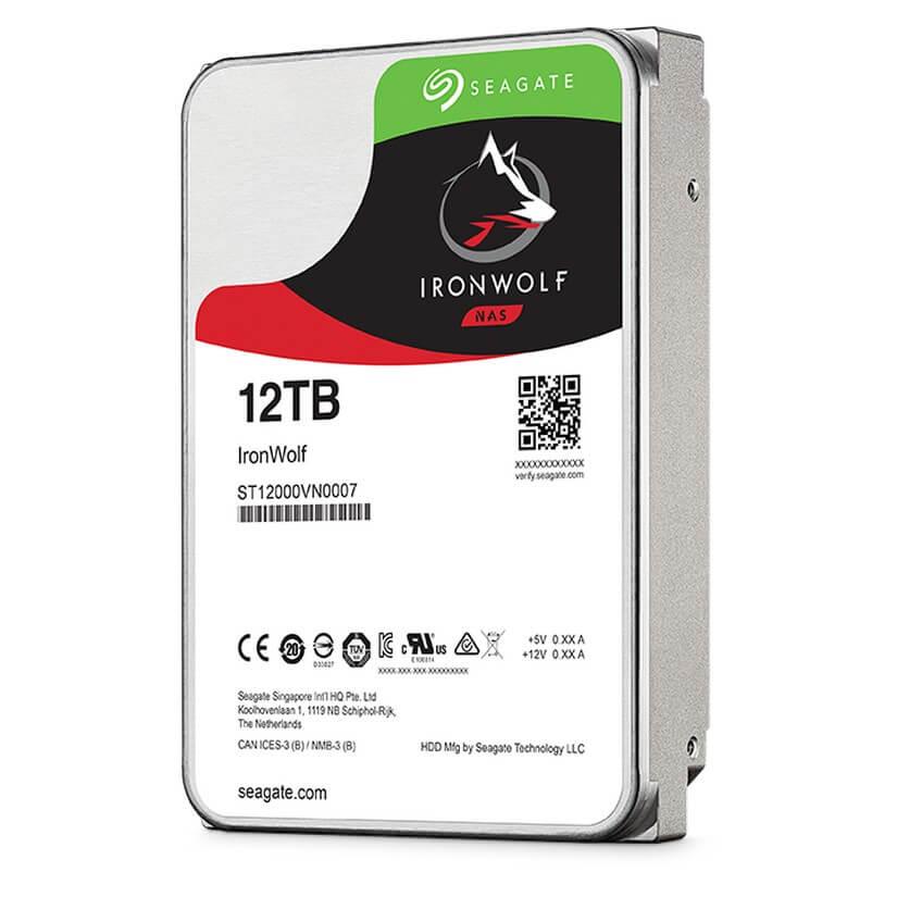 "HARD DISK 12 TB IRONWOLF SATA 3 3.5"" NAS (ST12000VN0007)"