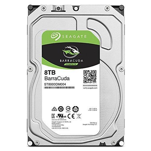 "HARD DISK BARRACUDA 8 TB SATA 3 3.5"" (ST8000DM004)"