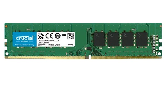MEMORIA DDR4 16 GB PC2400 MHZ (1X16) (CT16G4DFD824A)