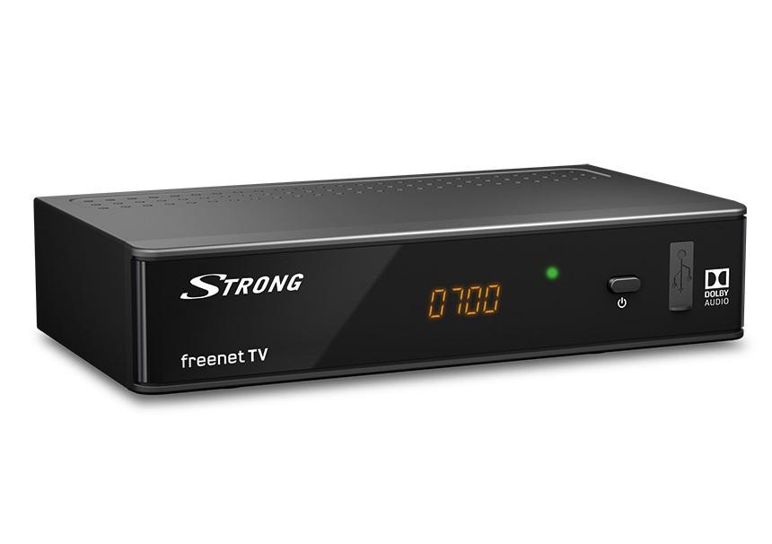DECODER DIGITALE TERRESTRE ZAP T2 HD USB REC (SRT8541) DVB-T/T2