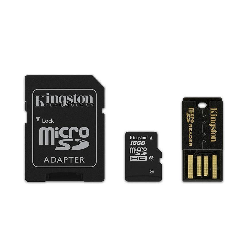 MULTI KIT 16 GB TRANS FLASH (MBLY10G2/16GB) CLASS 10