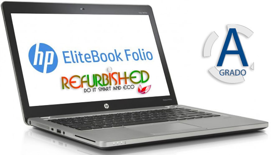 "NOTEBOOK ELITEBOOK FOLIO 9470M CORE I5 14"" - WINDOWS 7 PRO - RICONDIZIONATO - GAR. 12 MESI"