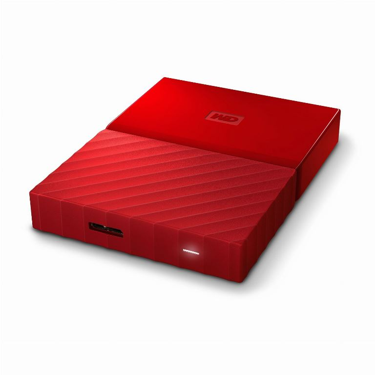 HARD DISK 1 TB ESTERNO MY PASSPORT USB 3.0 2,5 ROSSO (WDBYNN0010BRD-WESN)