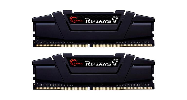 MEMORIA DDR4 32 GB RIPJAWS V PC3200 MHZ (2X16) (F4-3200C16D-32GVK)