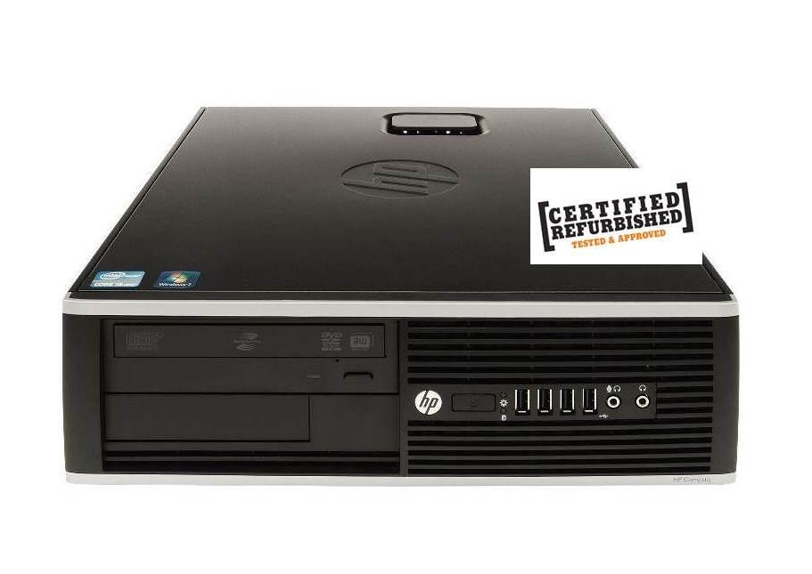 PC 8000 ELITE SFF INTEL CORE2 DUO E6550 2GB 80GB - RICONDIZIONATO - GAR. 12 MESI