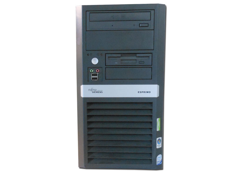 PC ESPRIMO P5720 INTEL CORE2DUO E6550 2GB 80GB DVD NO BOX - RICONDIZIONATO - GAR. 12 MESI