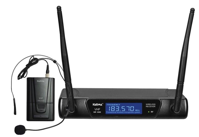RADIOMICROFONO AD ARCHETTO VHF (SET 6090LAV-A) (175.50MHZ)