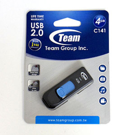 PEN DRIVE 4GB USB (TC1414GL01) NERA