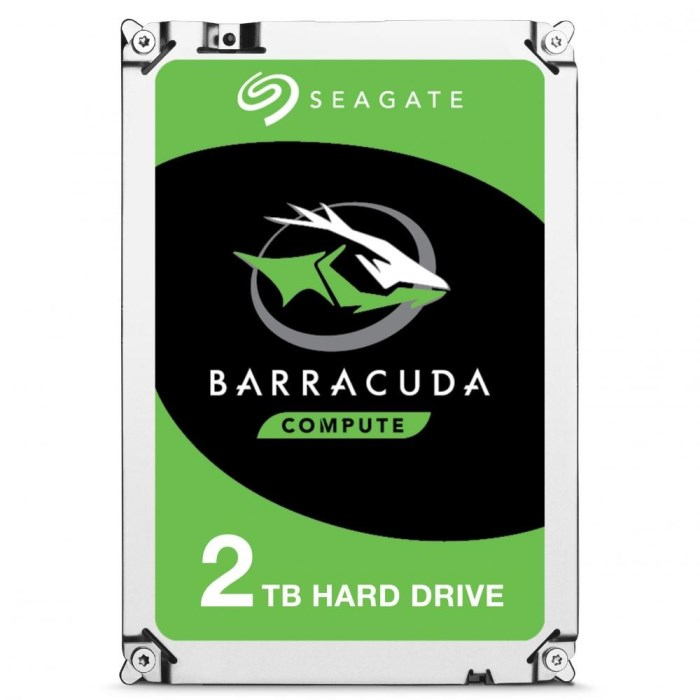 "HARD DISK BARRACUDA 2 TB SATA 3 3.5"" (ST2000DM008)"