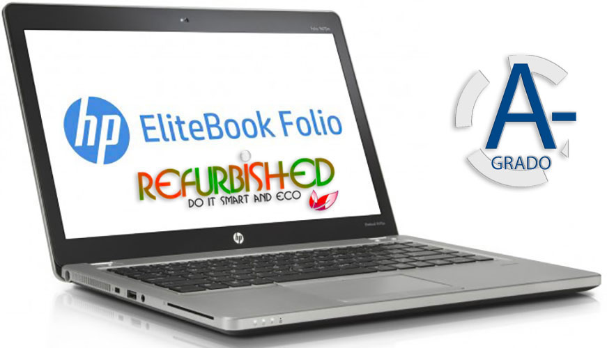"NOTEBOOK ELITEBOOK FOLIO 9470M INTEL CORE I5-3427U 14"" 8GB 256GB SSD WINDOWS 7 PRO - RICONDIZIONATO - GAR. 12 MESI"