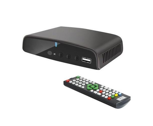 DECODER DIGITALE TERRESTRE UHD H265 (23HI036) DVB-10 DVB-T/T2
