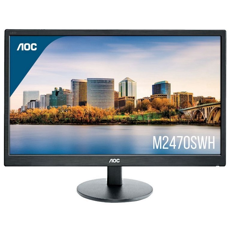 """MONITOR 24"""" M2470SWH LED MULTIMEDIALE FULL HD"""