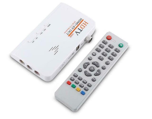 DECODER DIGITALE TERRESTRE DVB-T2 RICEVITORE BOX HDMI AV 1080P USB